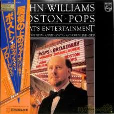 ジョン・ウィリアムス指揮「ボストン・ポップス・オン・ブロード|日本フォノグラム