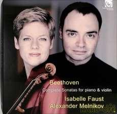 ベートーヴェン ヴァイオリン・ソナタ全曲 イザベル・ファスト|ハルモニアムンディ(輸入 独)