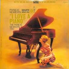フィニアス・ニューボーン「アイ・ラヴ・ア・ピアノ」|コロンビア(ルーレット)