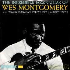 ウェス・モンゴメリー「インクレディブル・ジャズ・ギター」|ビクター音産(リバーサイド)