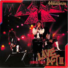 44マグナム「ライヴ・アクト2」|ムーン・レコード