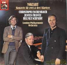 エッシェンバッハ「モーツアルト2.3台のピアノ協奏曲集」|EMI
