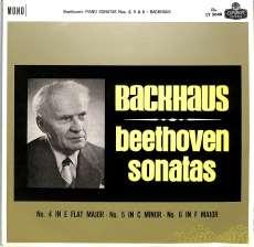 ベートーヴェン ソナタ4,5,6 バックハウス|KING RECORD