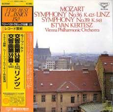モーツァルト 交響曲36,39番 ケルテス|キングレコード