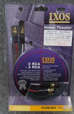 RCAラインケーブル IXOS