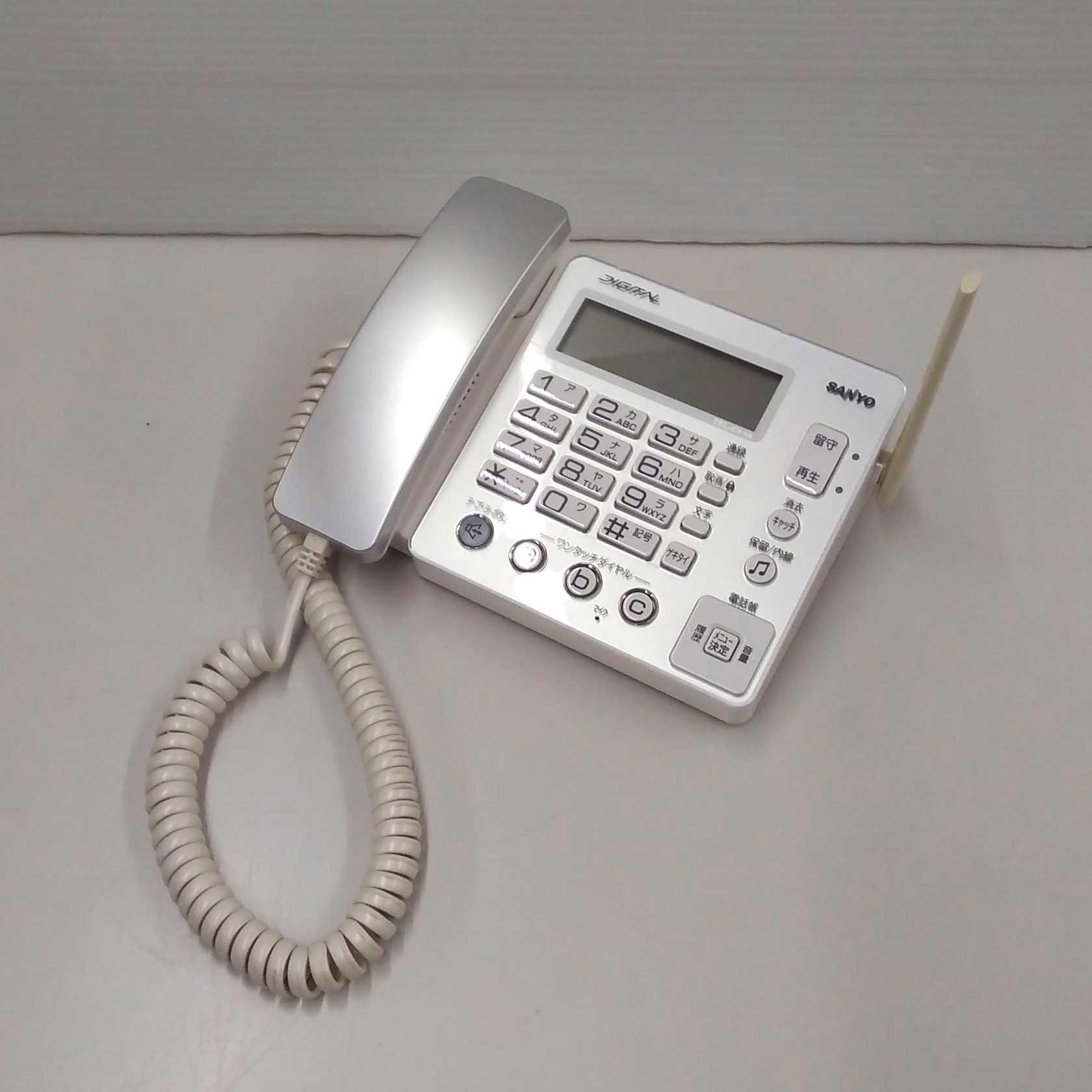 電話機|SANYO