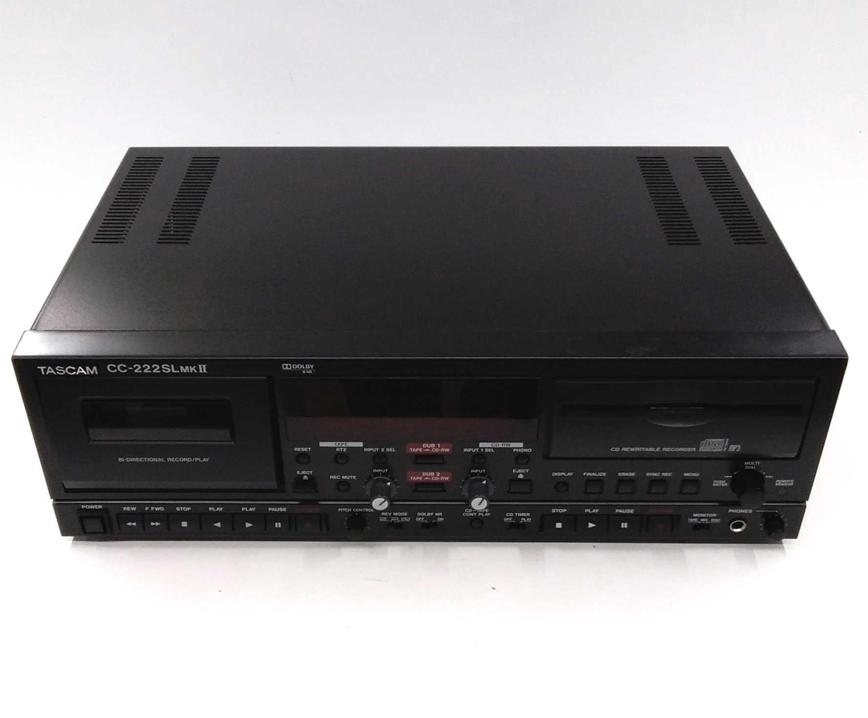 CD/カセットレコーダー|TASCAM
