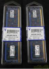DDR3-1600/PC3-12800 ECC付き|KINGSTON TECHNOLOGY