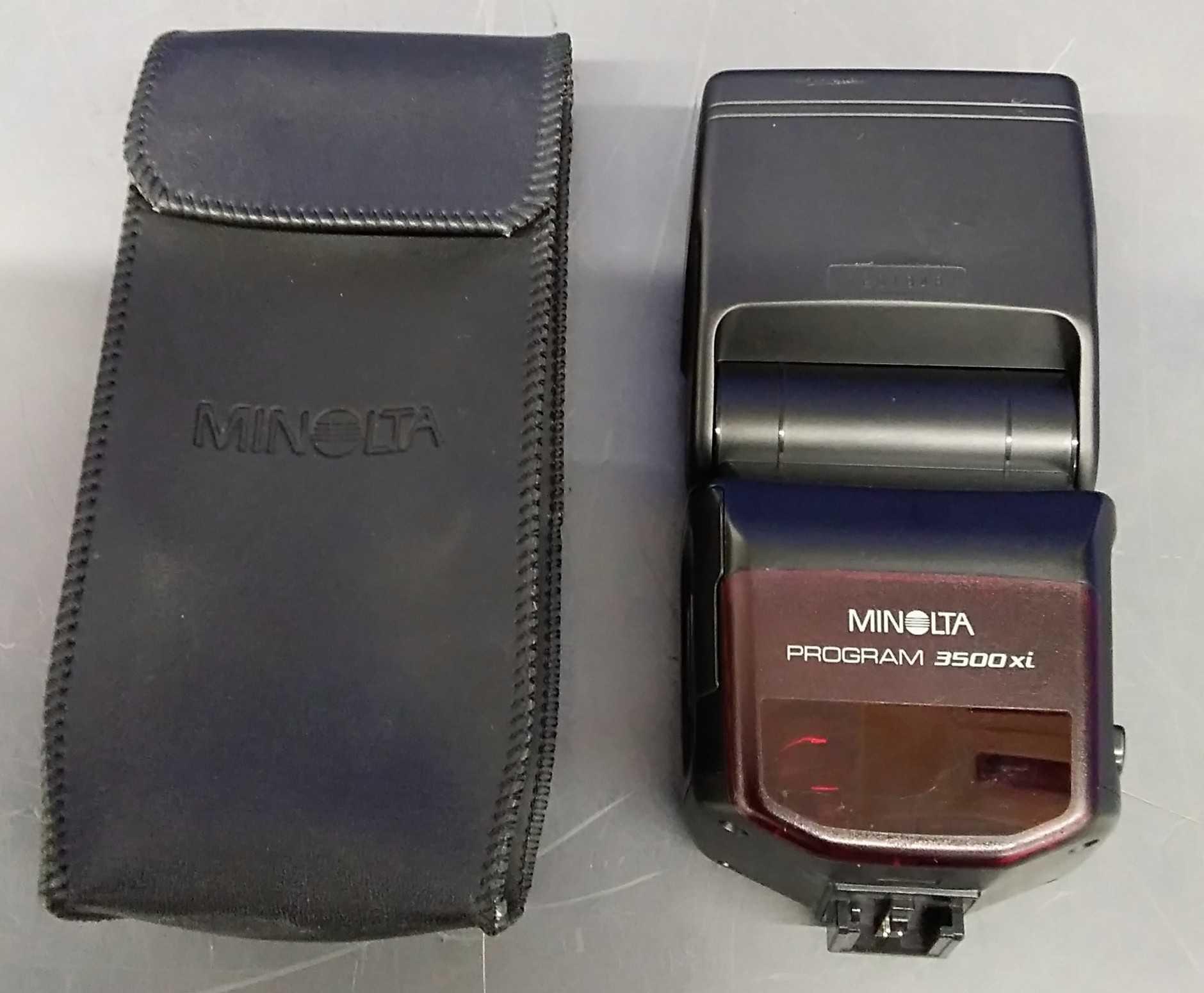 MINOLTAフィルムカメラ用ストロボ|MINOLTA