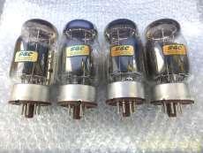 真空管 KT88 4本セット メタル茶ベース イギリス製 GEC