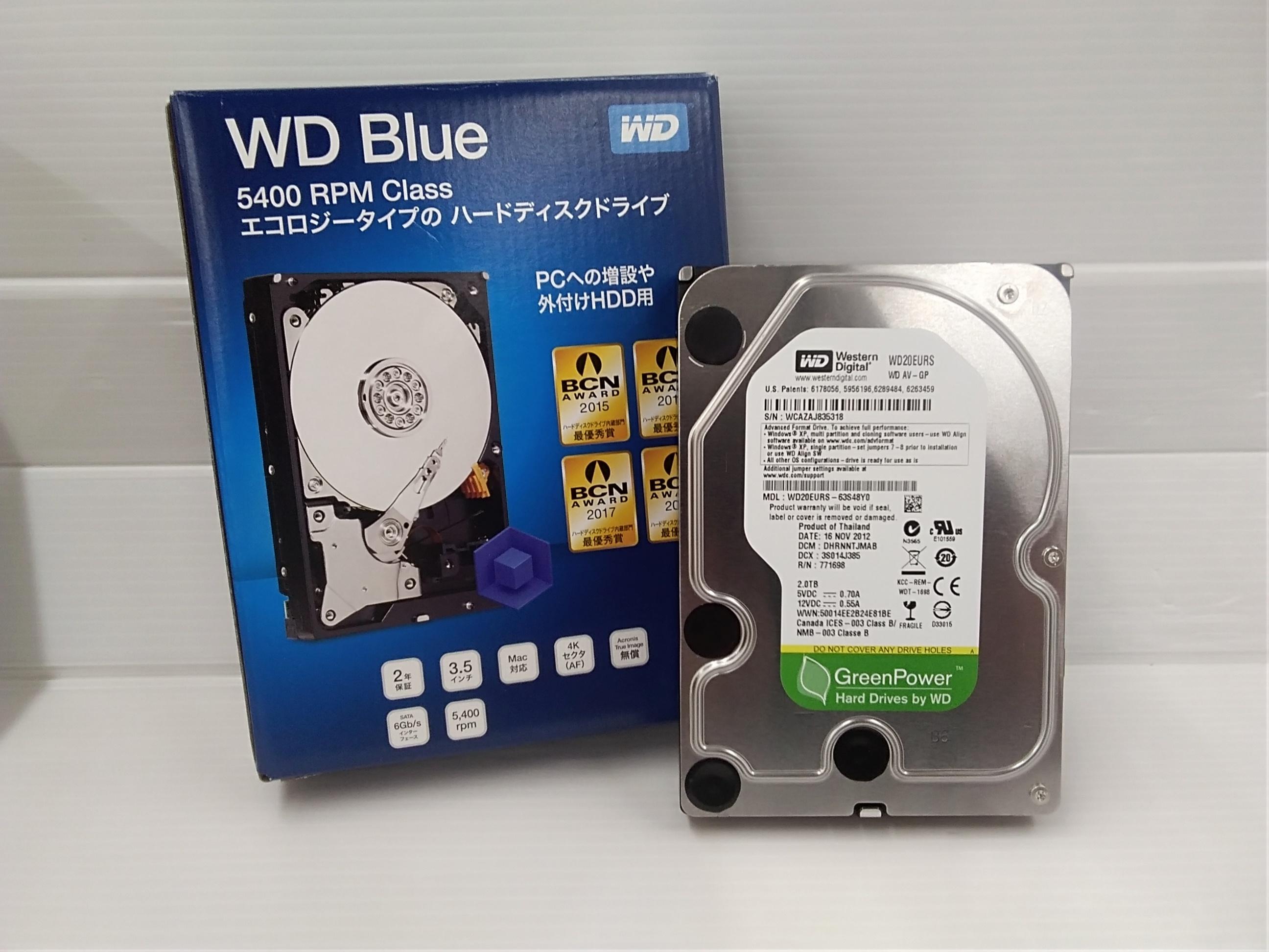 HDD3.5インチ|WD BLUE