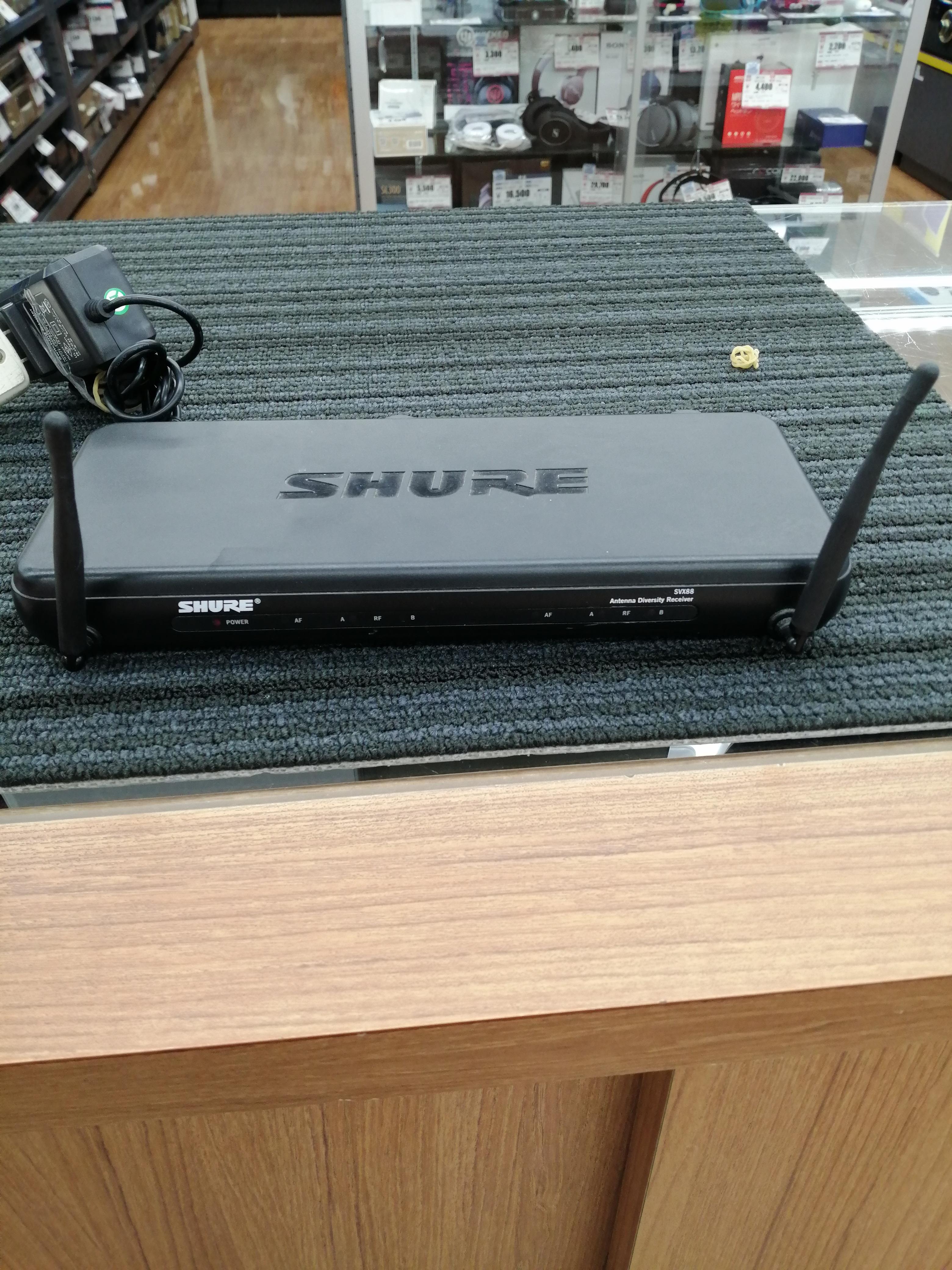 ワイヤレスシステム|SHURE