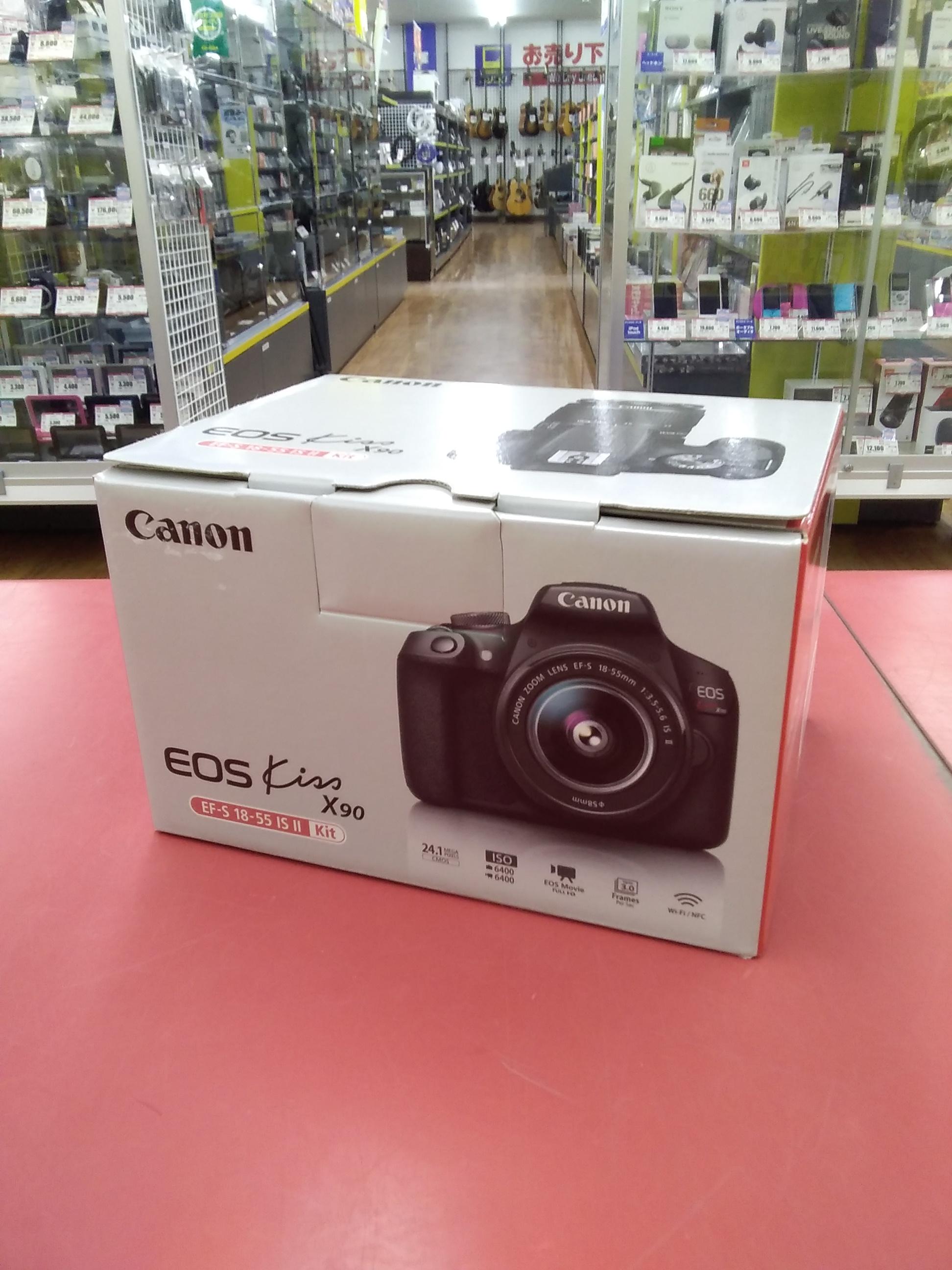デジタル一眼レフカメラ レンズキット 未使用品|CANON