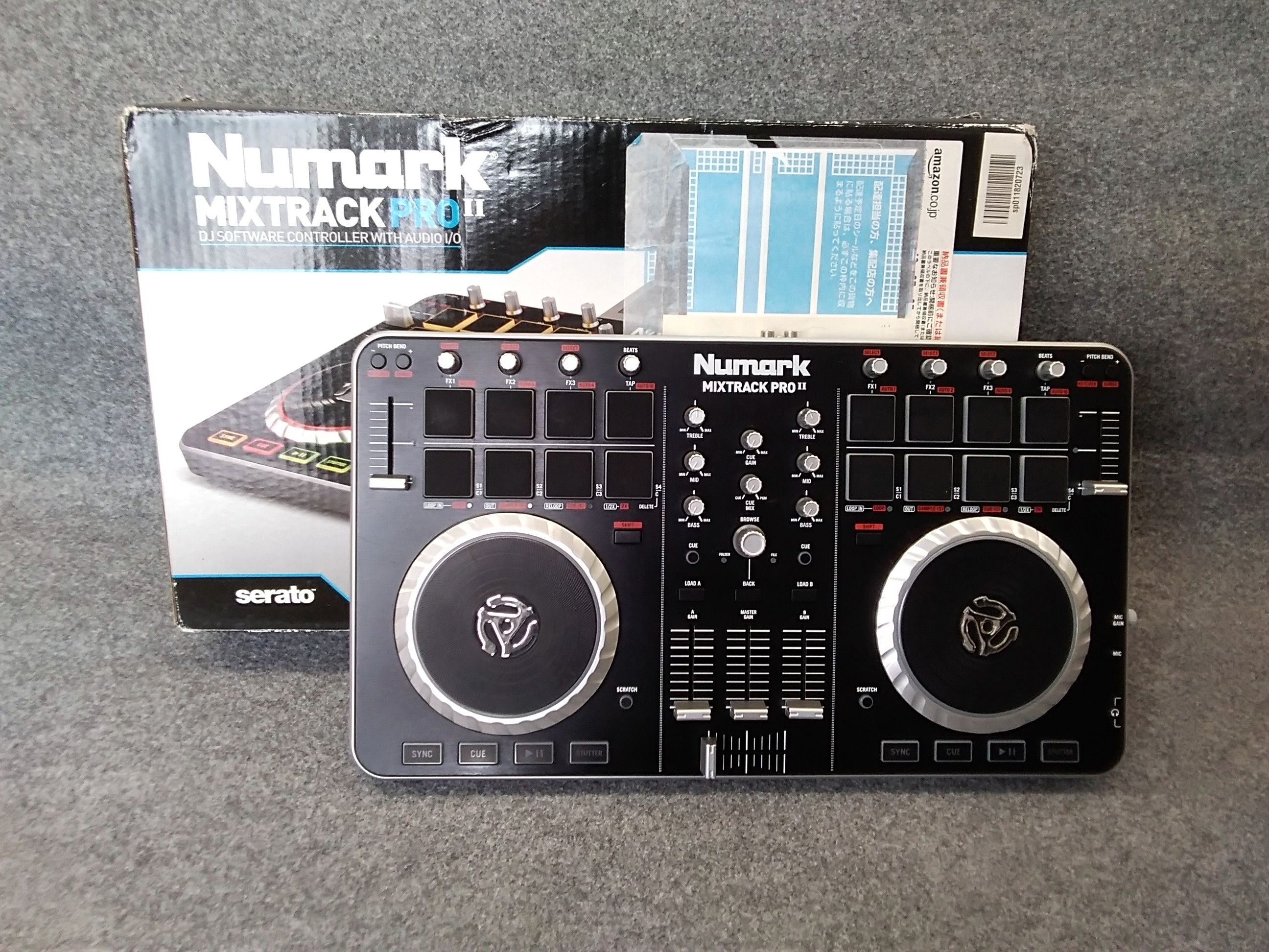 DJミキサー|NUMARK