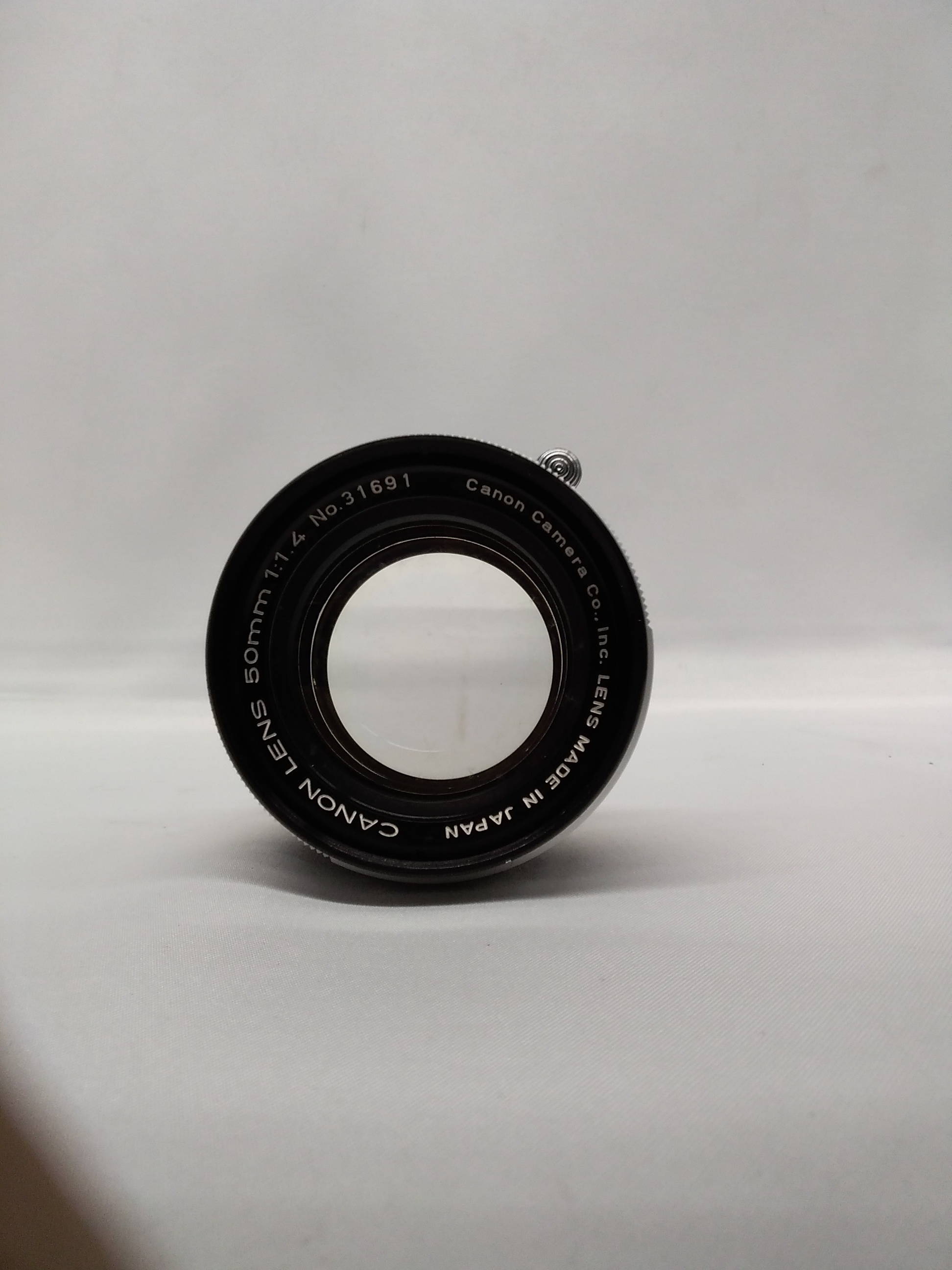 【ジャンク】Lマウントレンズ 50mm 1:1.4 CANON