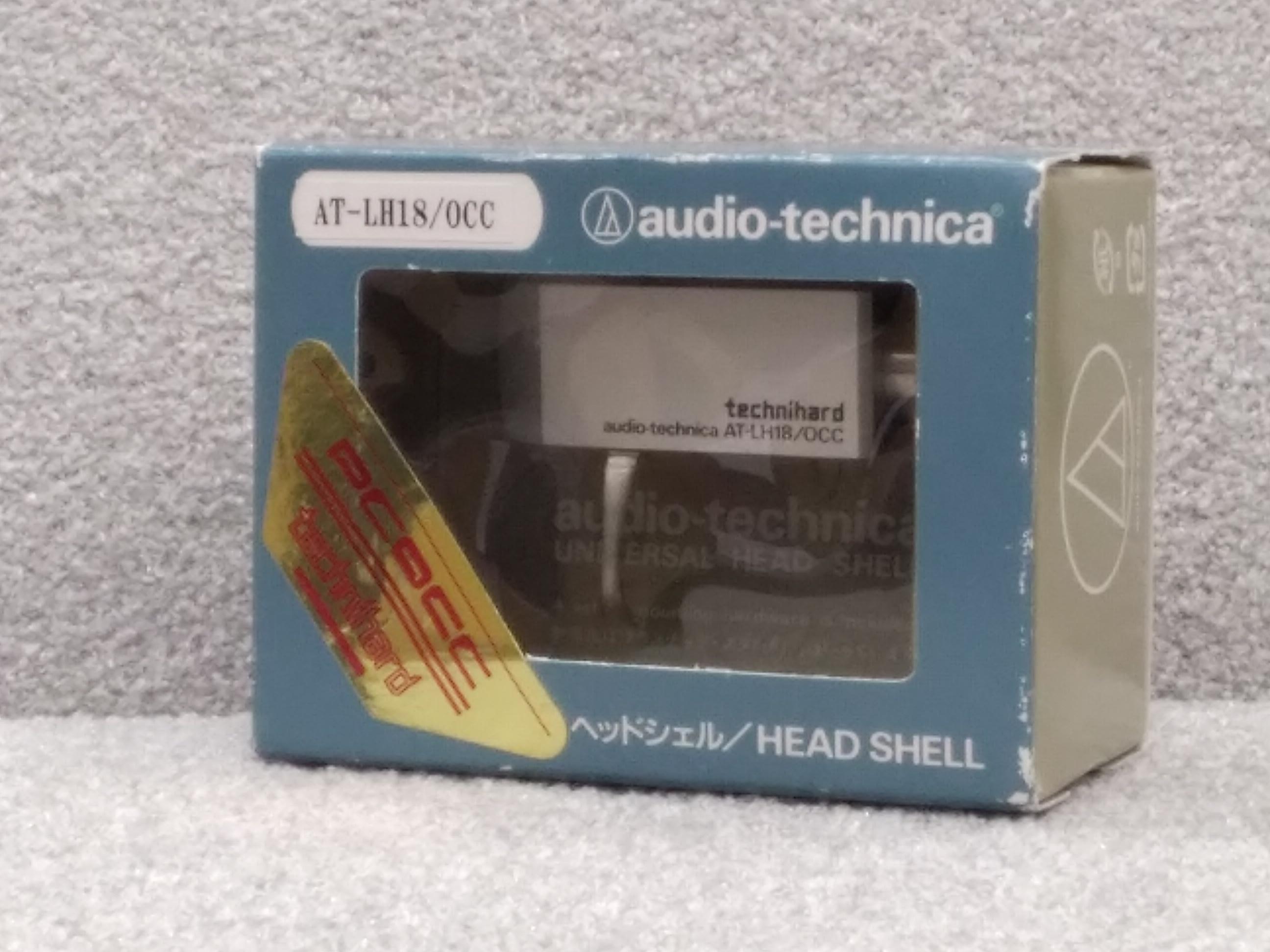 高音速超硬質素材テクニハード採用ヘッドシェル AUDIO-TECHNICA
