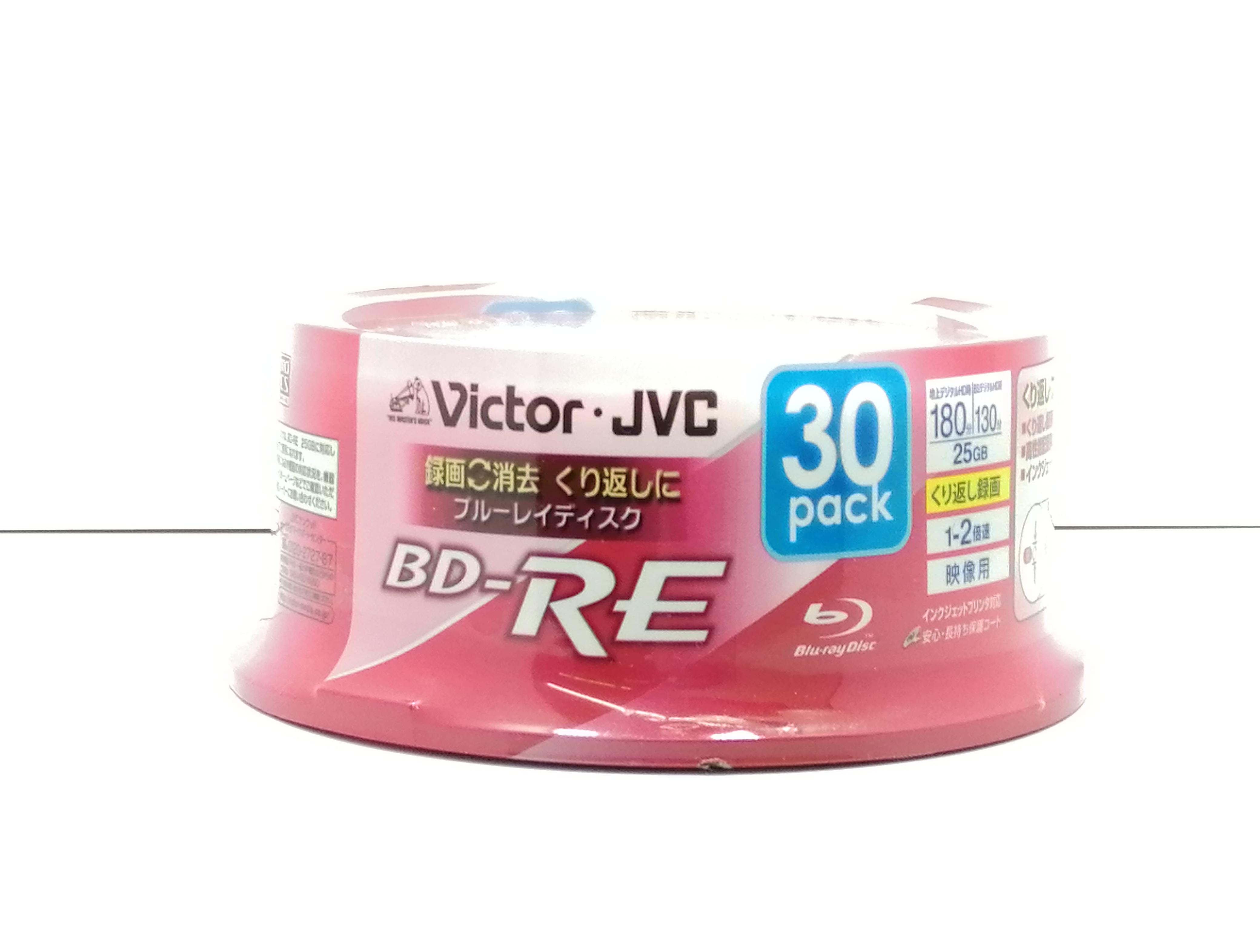 未開封・未使用品 BD-RE 30PACK|VICTOR JVC