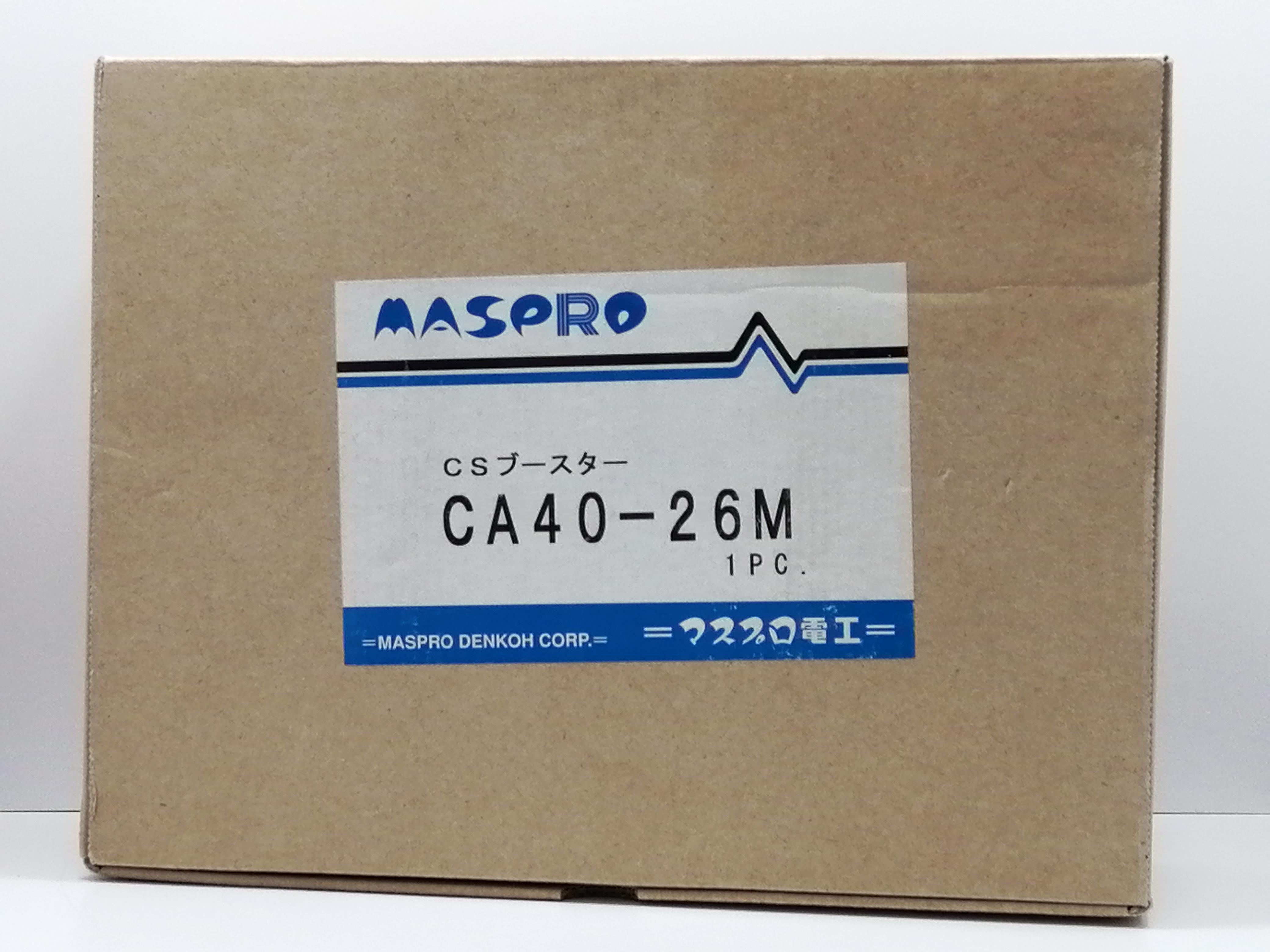 開封確認のみの未使用品|MASPRO