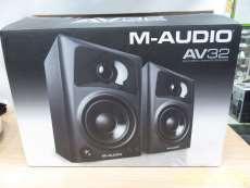アクティブニアフィールドモニタースピーカー M-AUDIO
