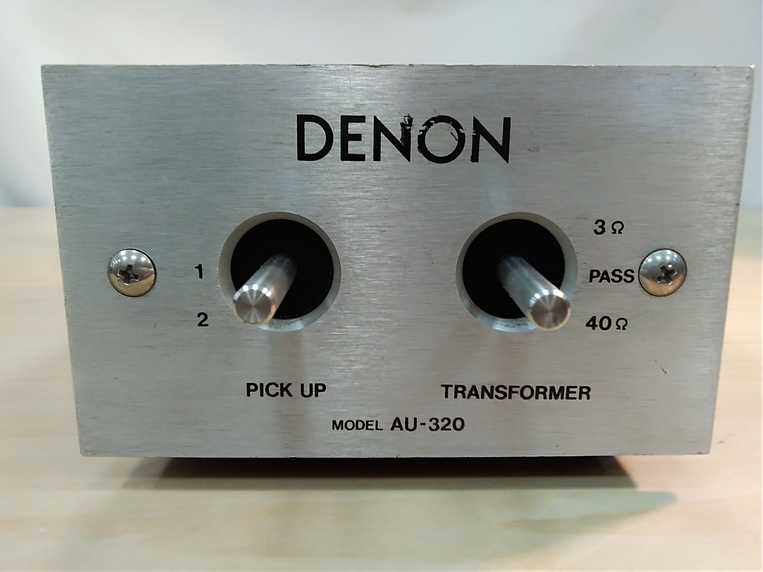 昇圧トランス/ヘッドアンプ DENON