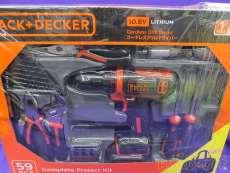 電動ドリルドライバー BLACK+DECKER