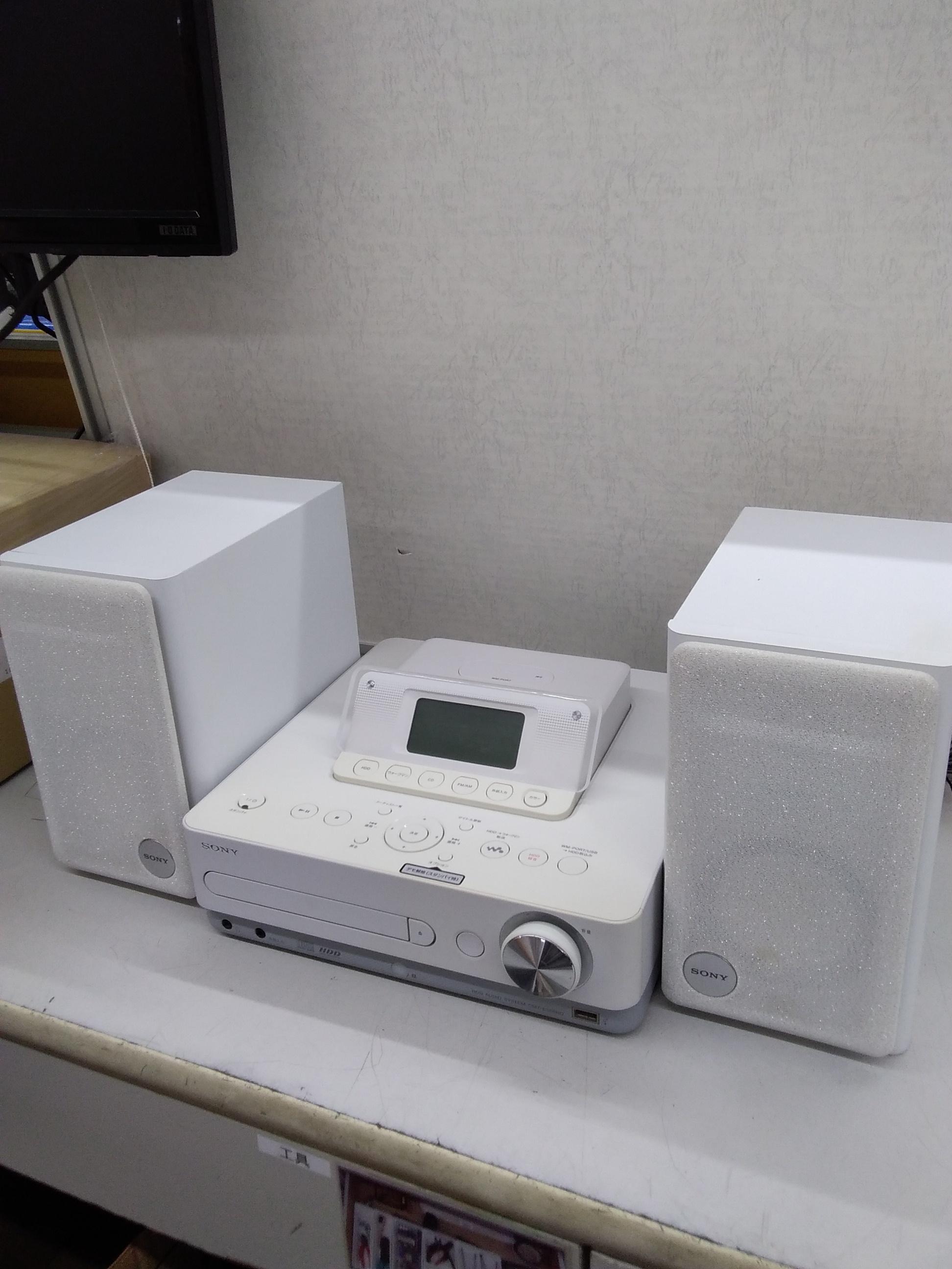 HDD搭載コンポ|SONY