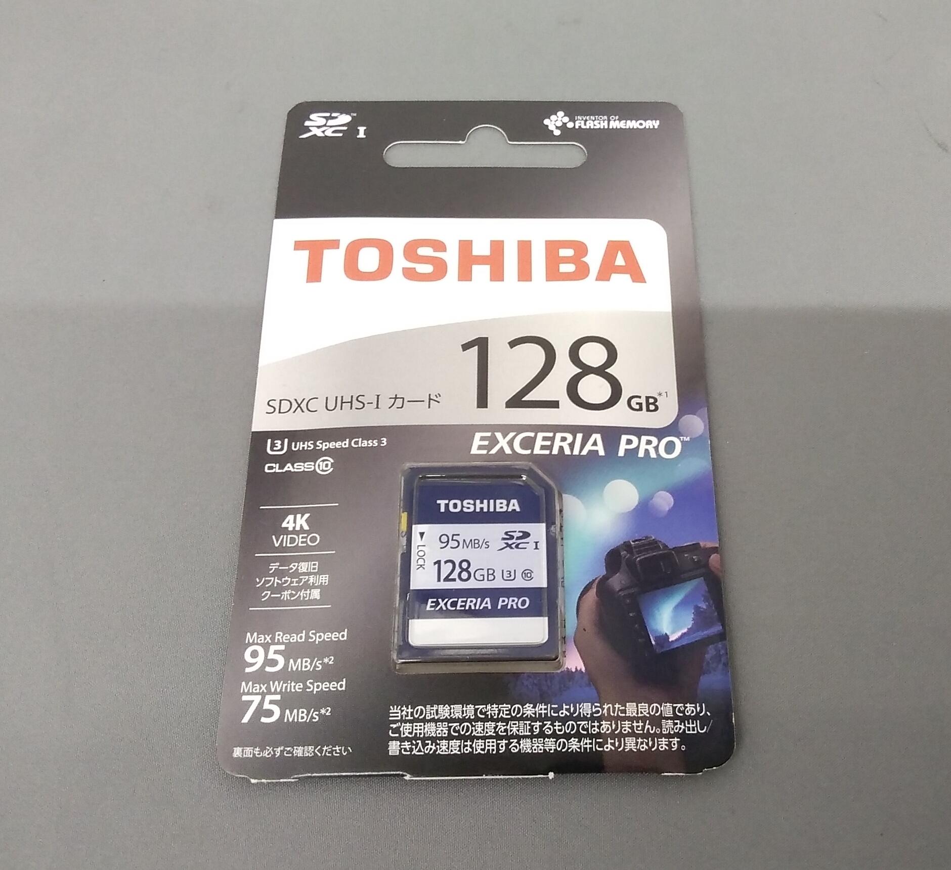 SDXCメモリーカード TOSHIBA