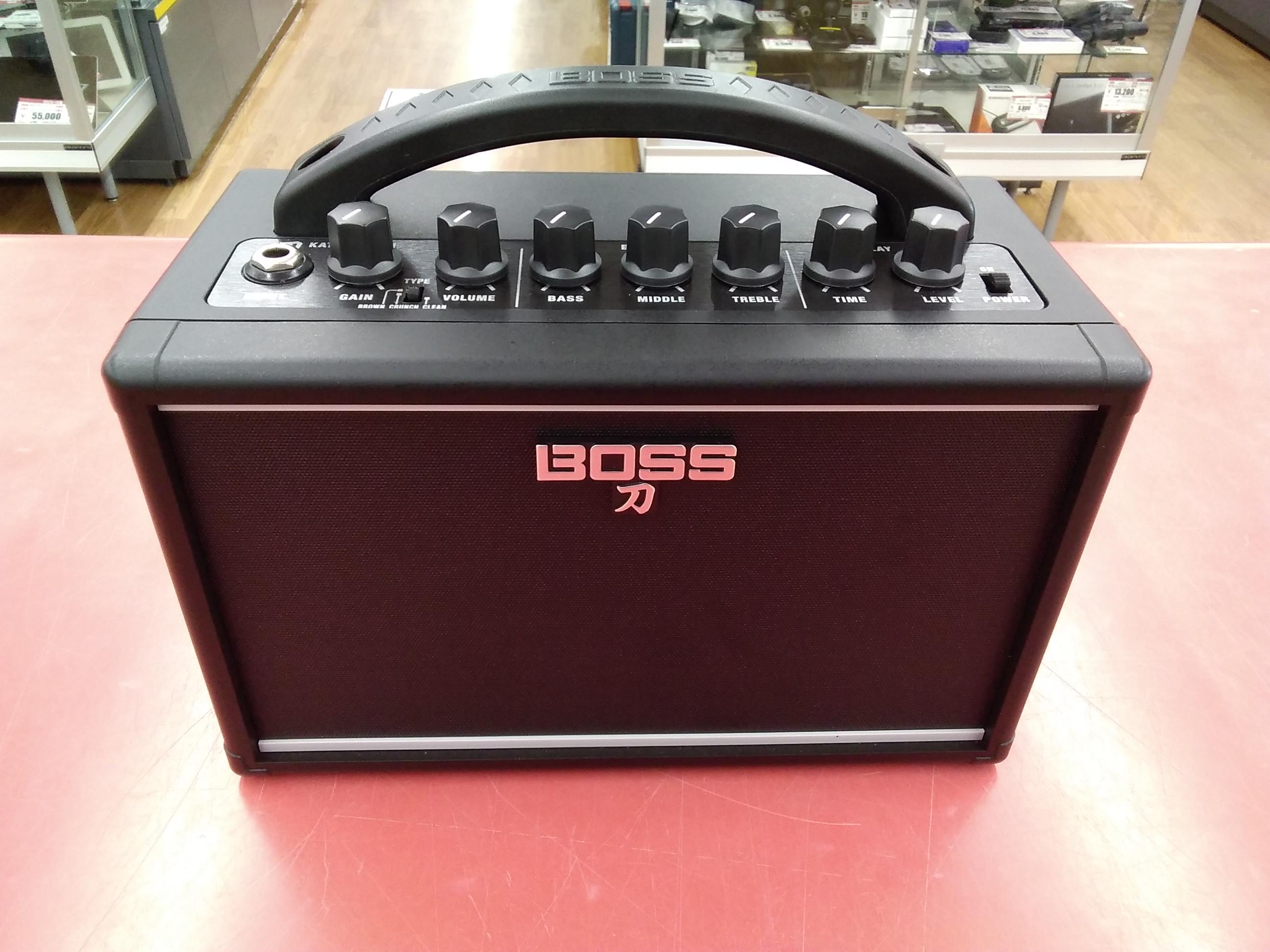 ミニギターアンプ|BOSS