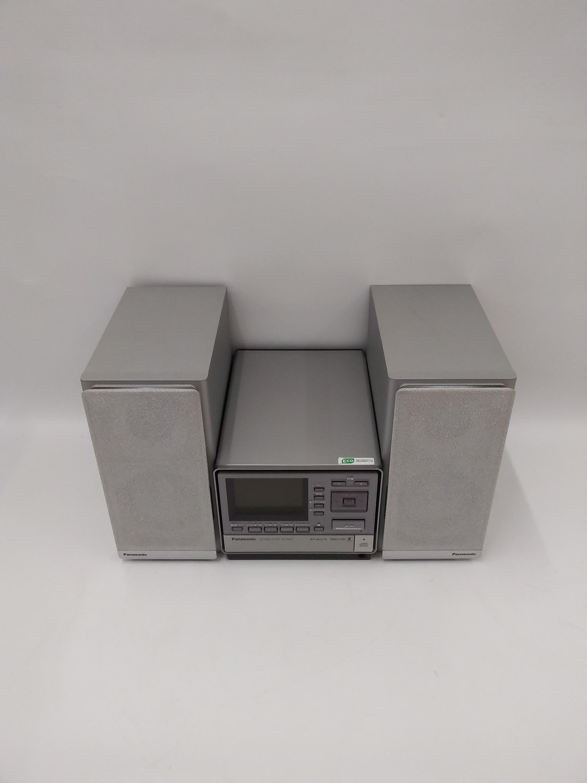 HDD搭載コンポ|PANASONIC