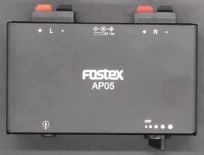 小型アンプ|FOSTEX
