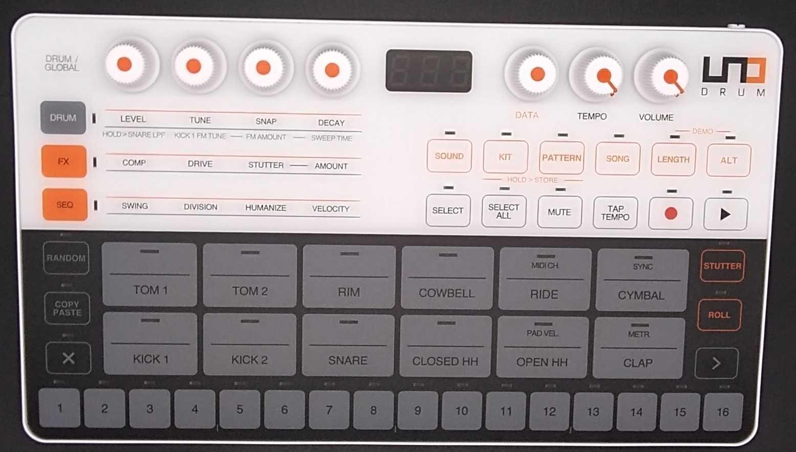 ドラムマシン|IK MULTIMEDIA