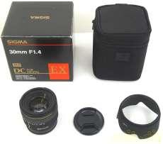 標準・望遠単焦点レンズ SIGMA