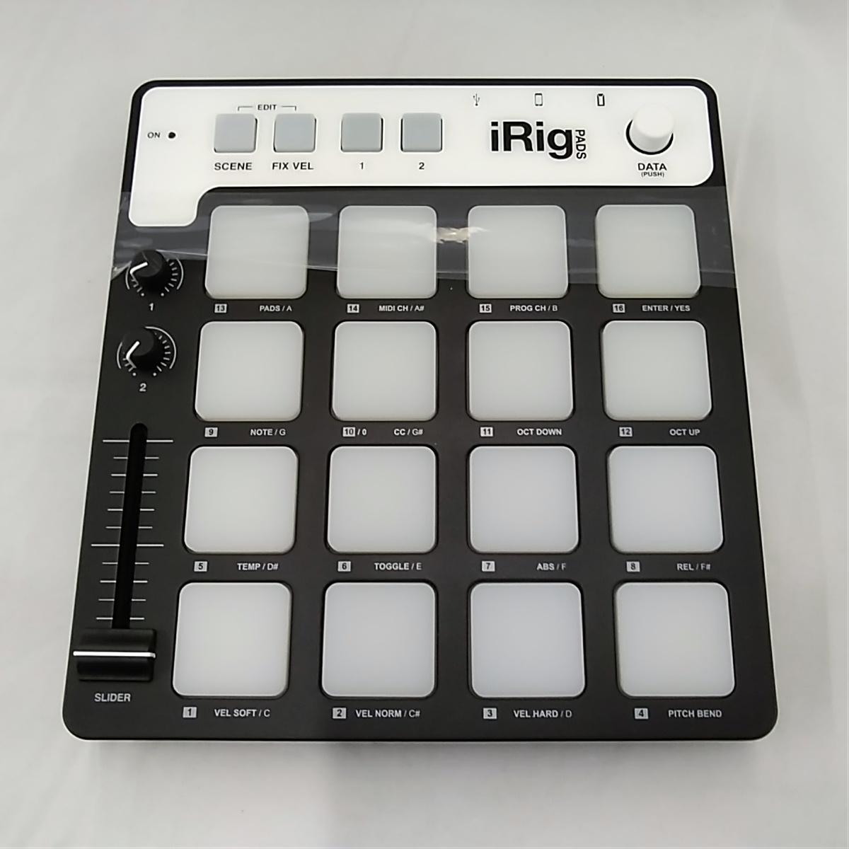 MIDIフィジカルコントローラー|IRIG
