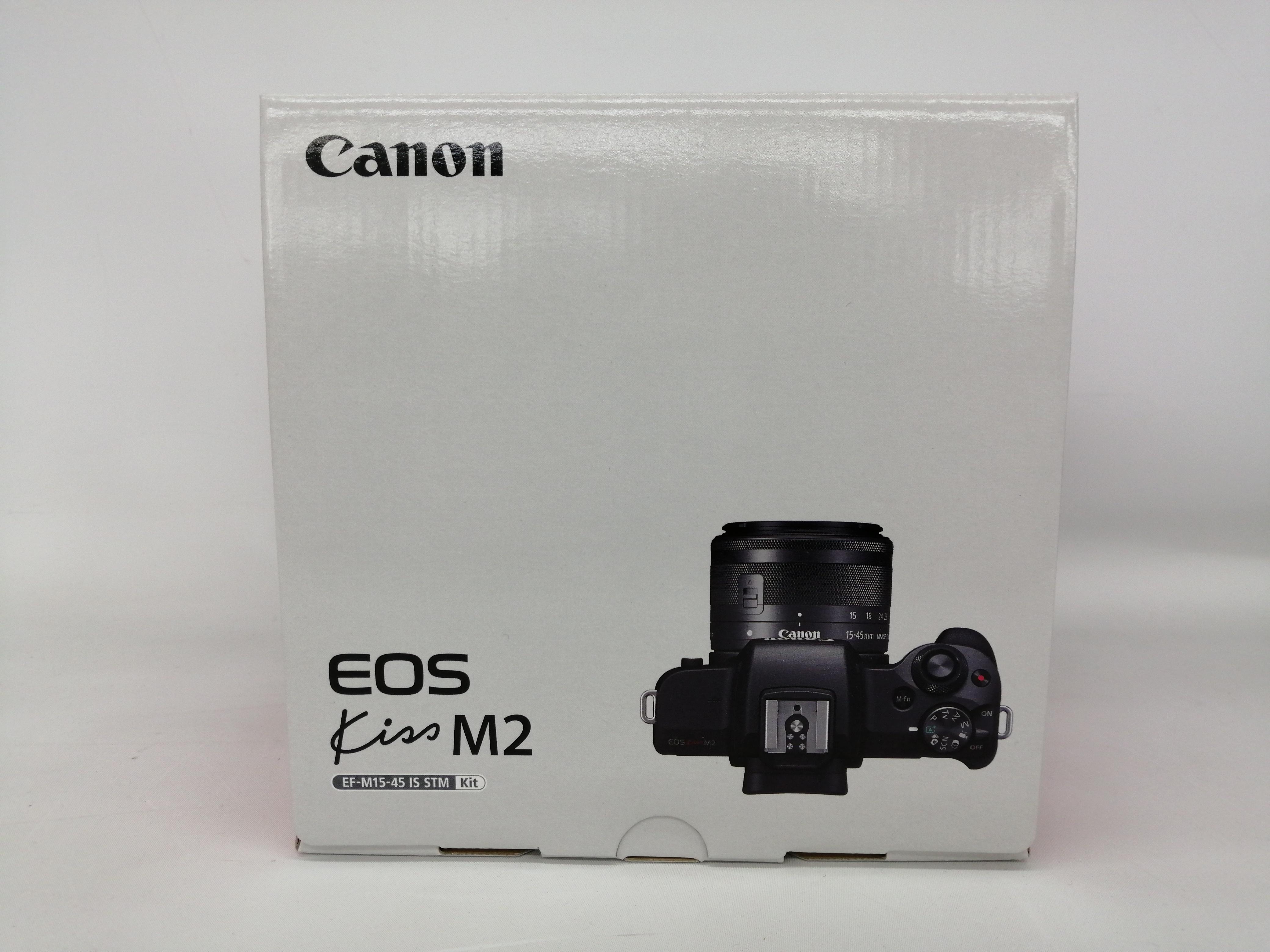 【未使用品】ミラーレス一眼カメラレンズキット|CANON