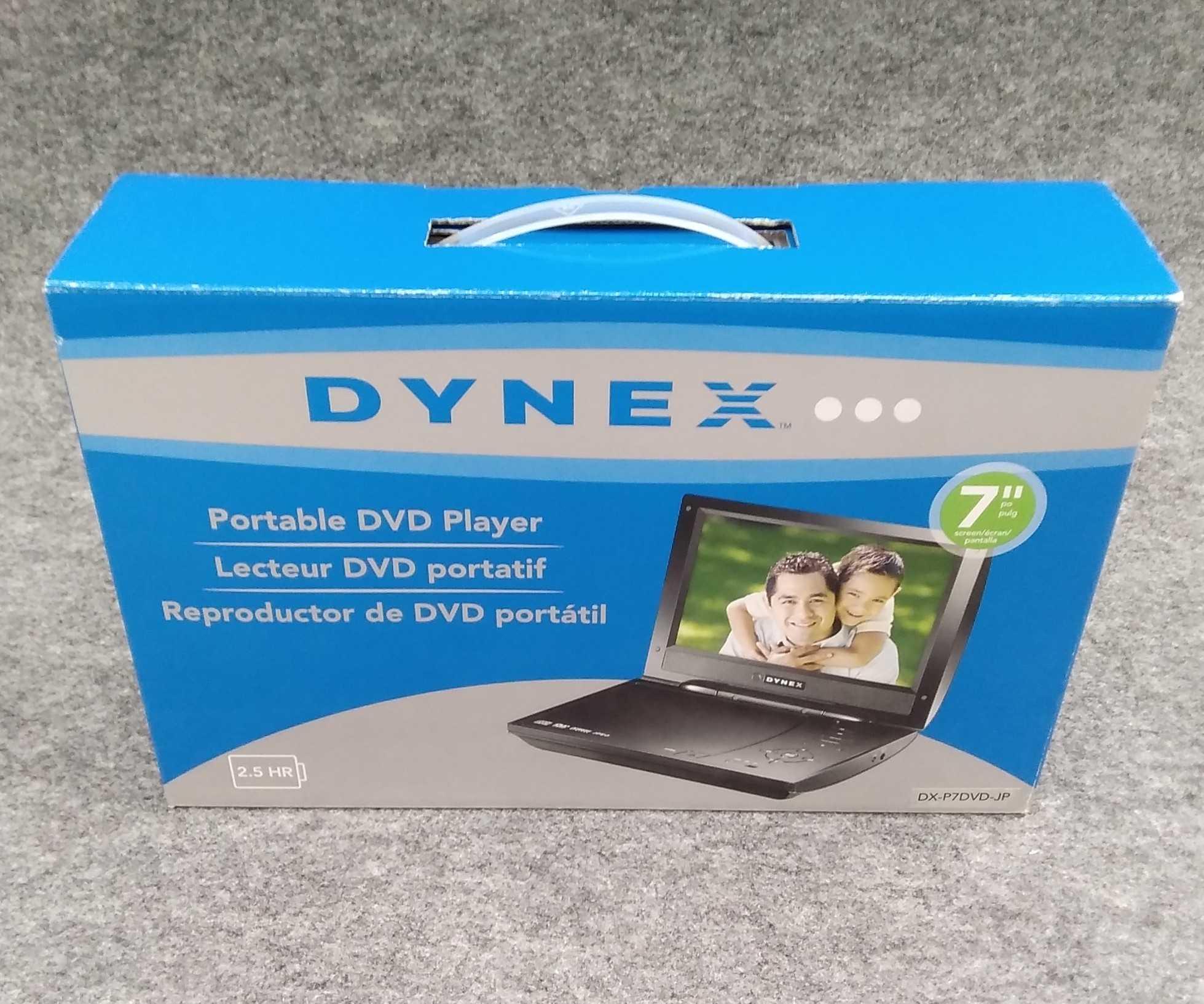 ポータブルDVDプレーヤー|DYNEX