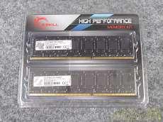 DDR3-1600/PC3-12800 G.SKILL