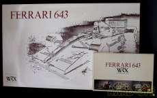 FERRARI 643 1/8|ROSSO