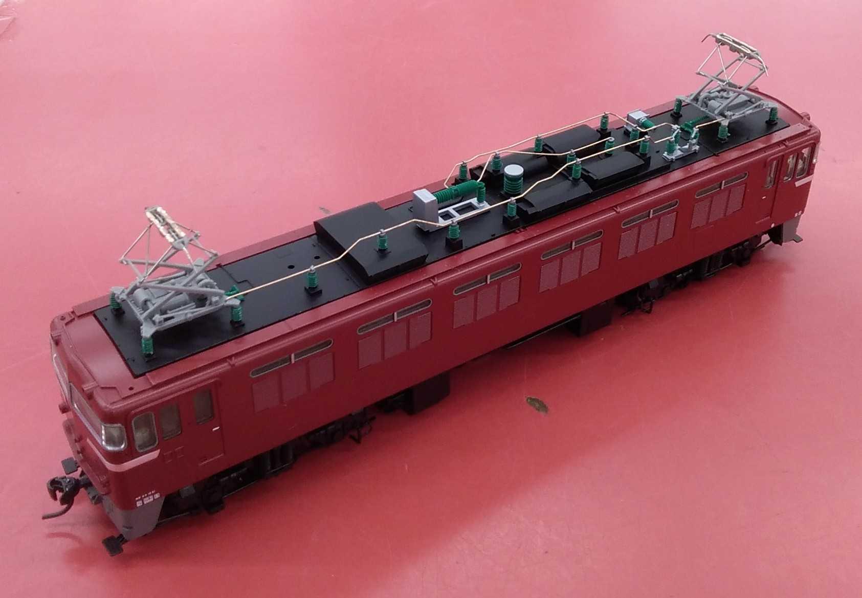 HOゲージ車両 電気機関車 TOMIX