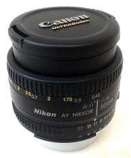 標準・中望遠単焦点レンズ|NIKON