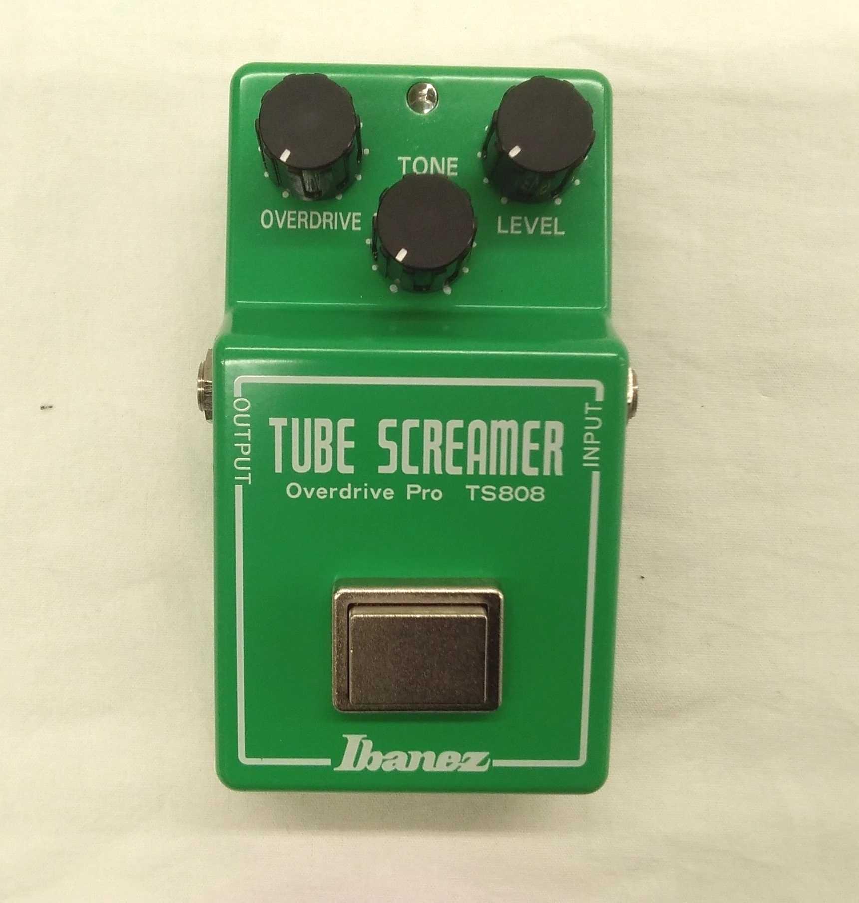 一番最初に発売されたTUBE SCREAMERの復刻モデル|IBANEZ