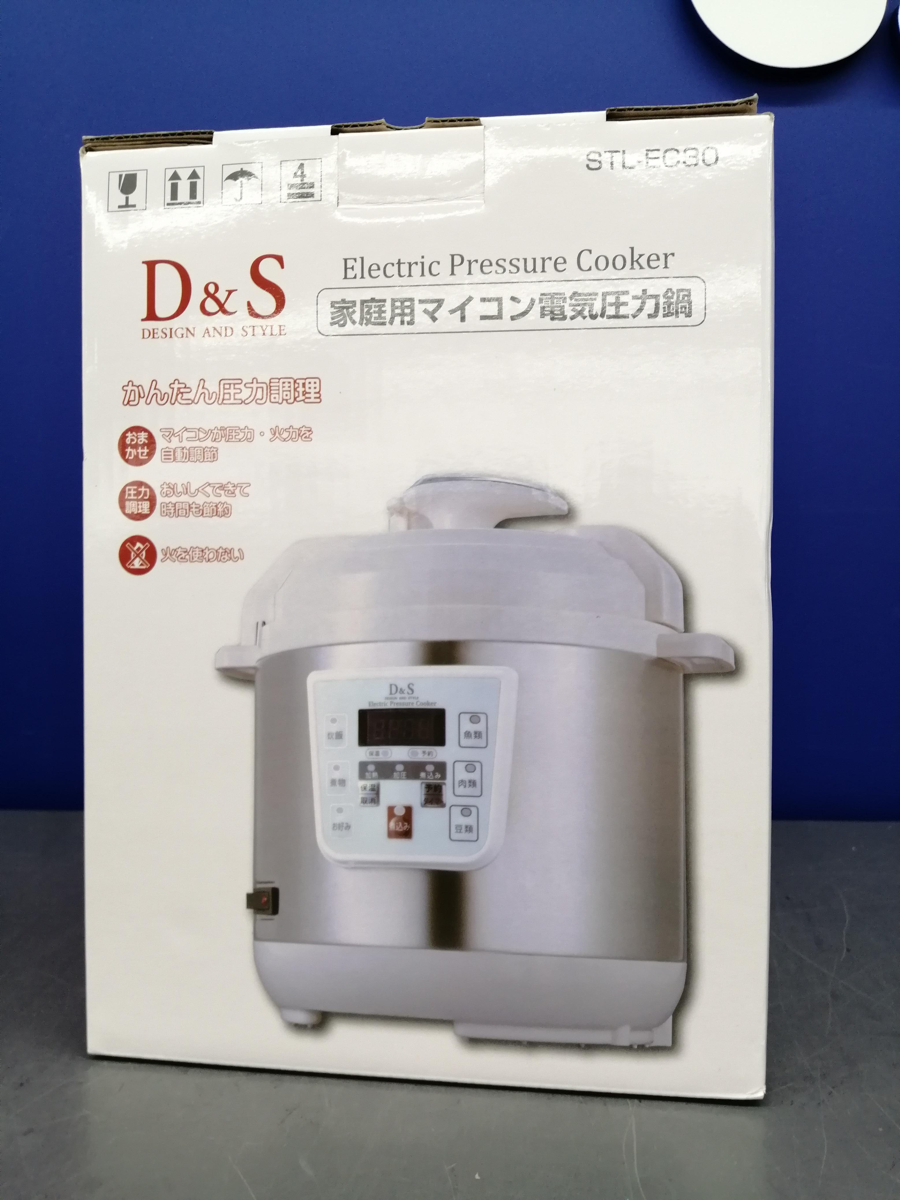 電気圧力鍋 D&S