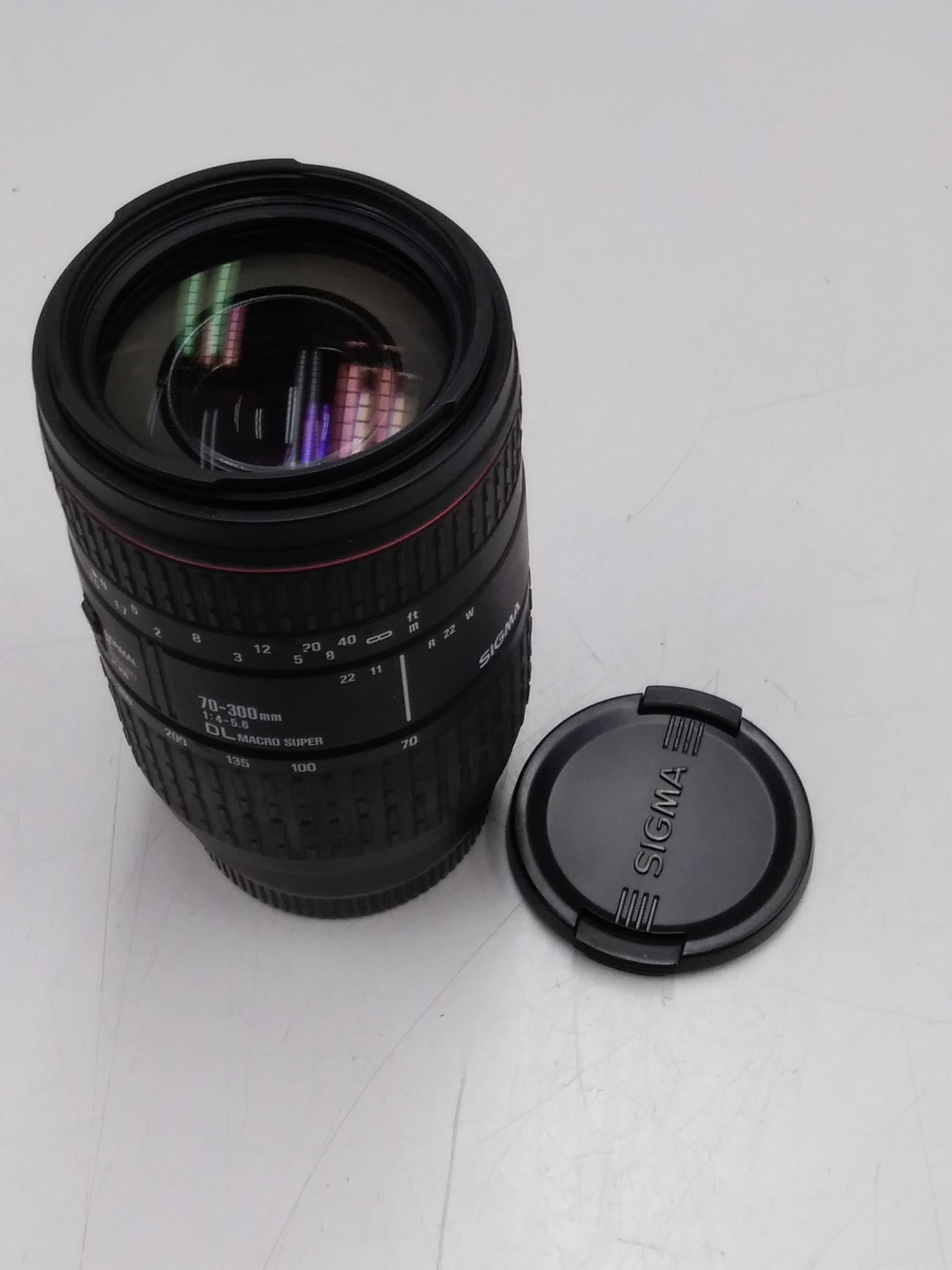 カメラレンズ|SIGMA/MINOLTA A