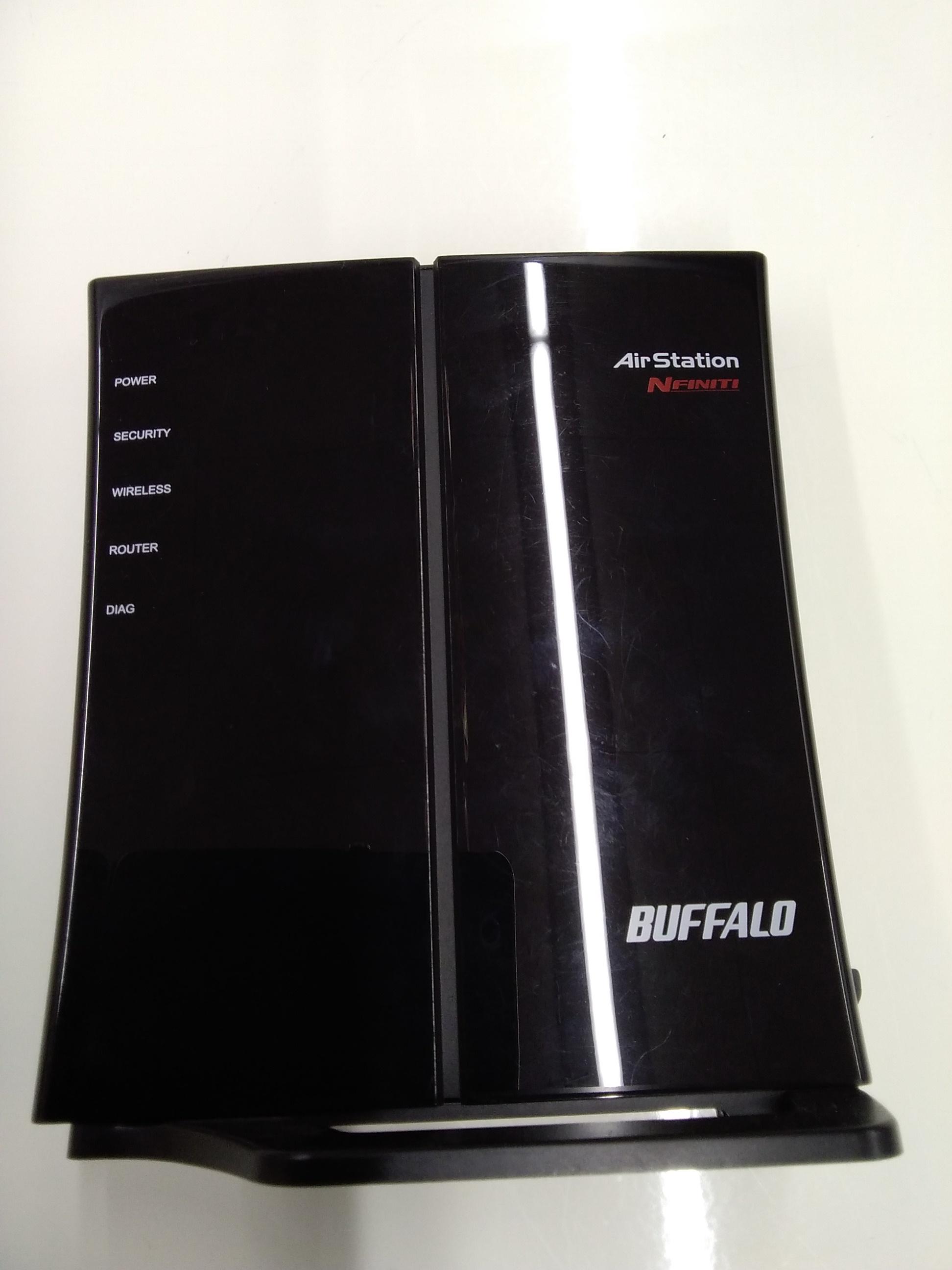 N/G/B対応無線LANルーター親機単体|BUFFALO