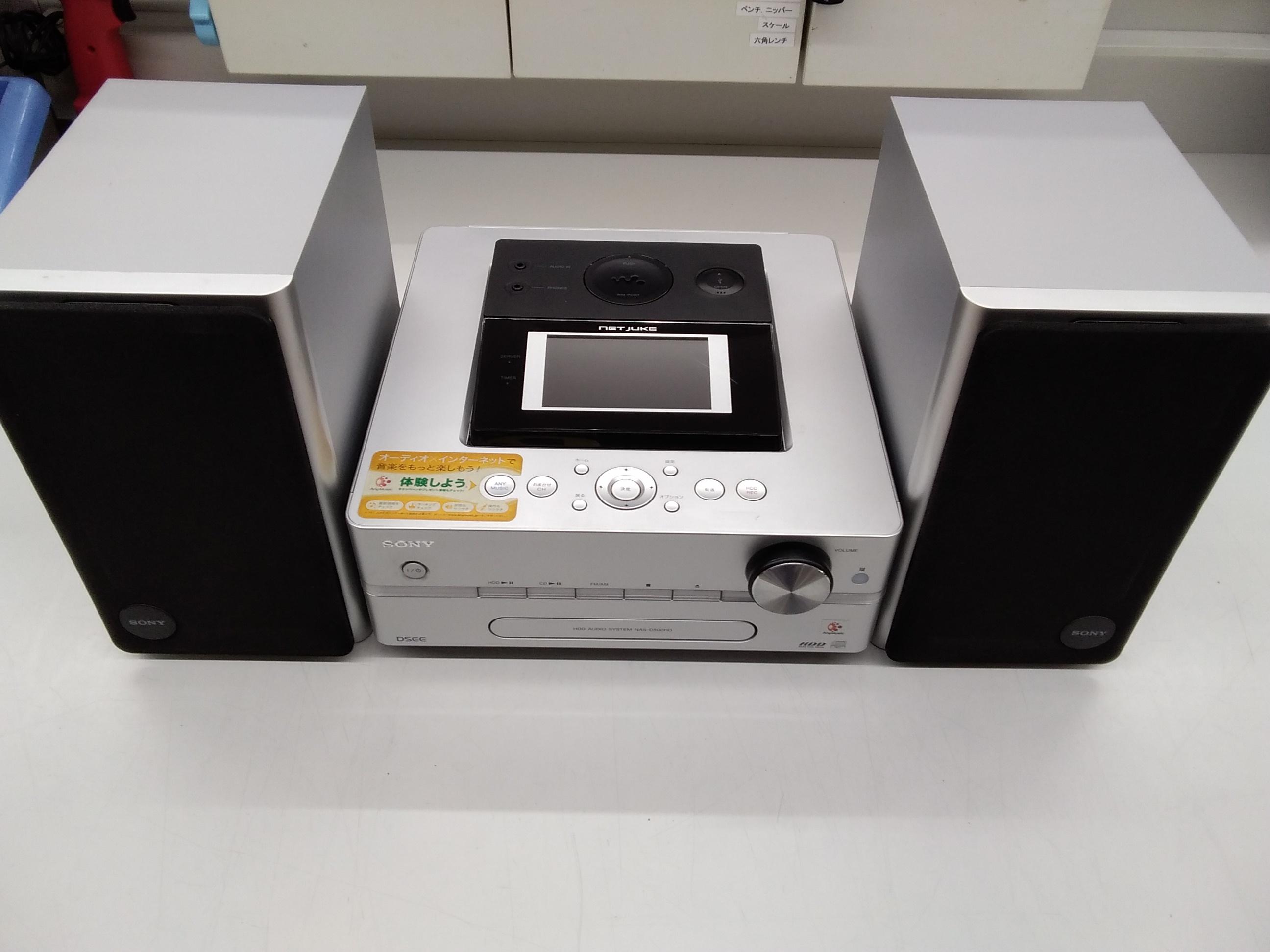 HDD搭載コンポ SONY