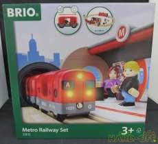 BRIO 33513 METRO RAILWAY SET|BRIO