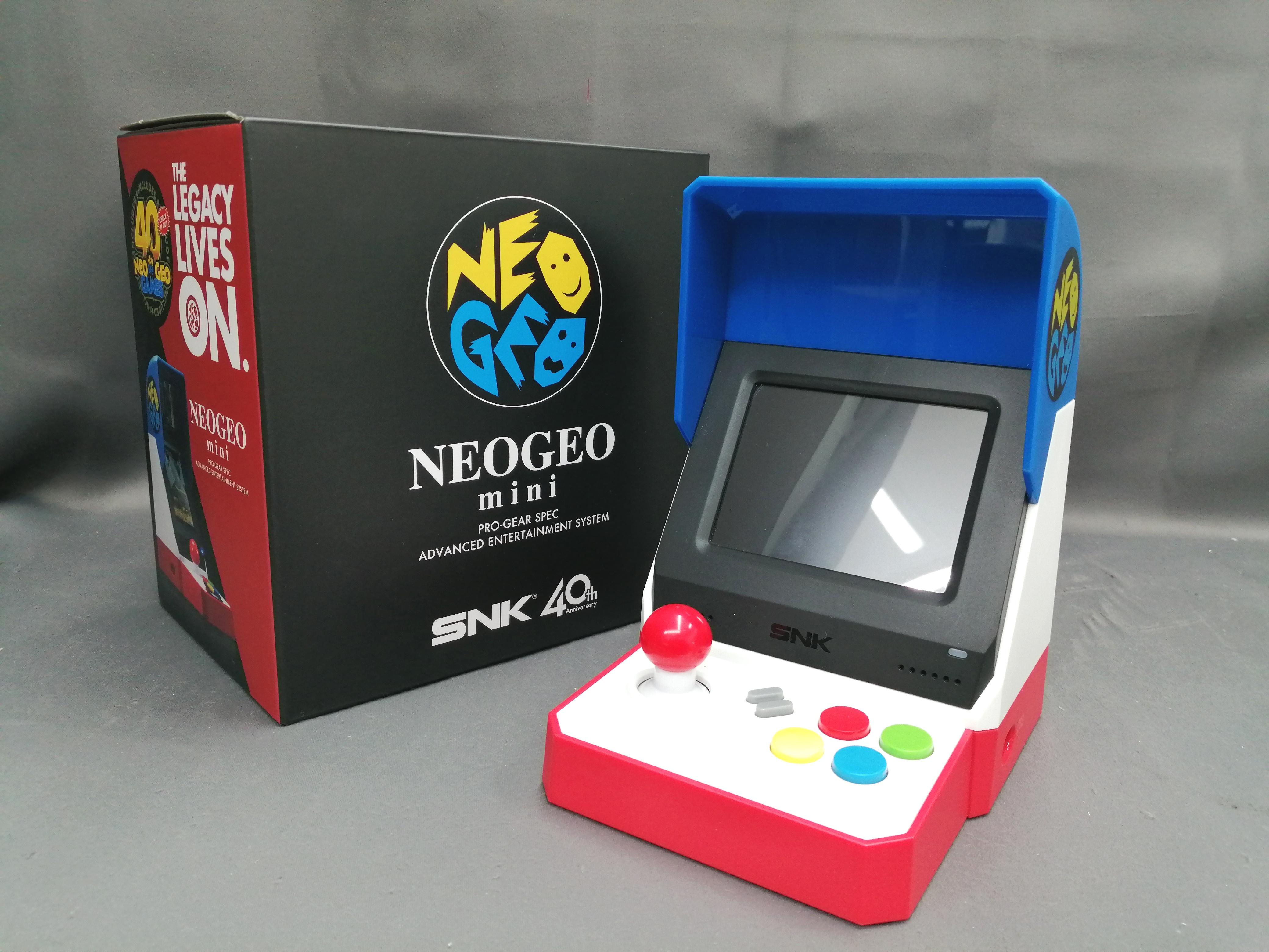 NEOGEO MINI|SNK