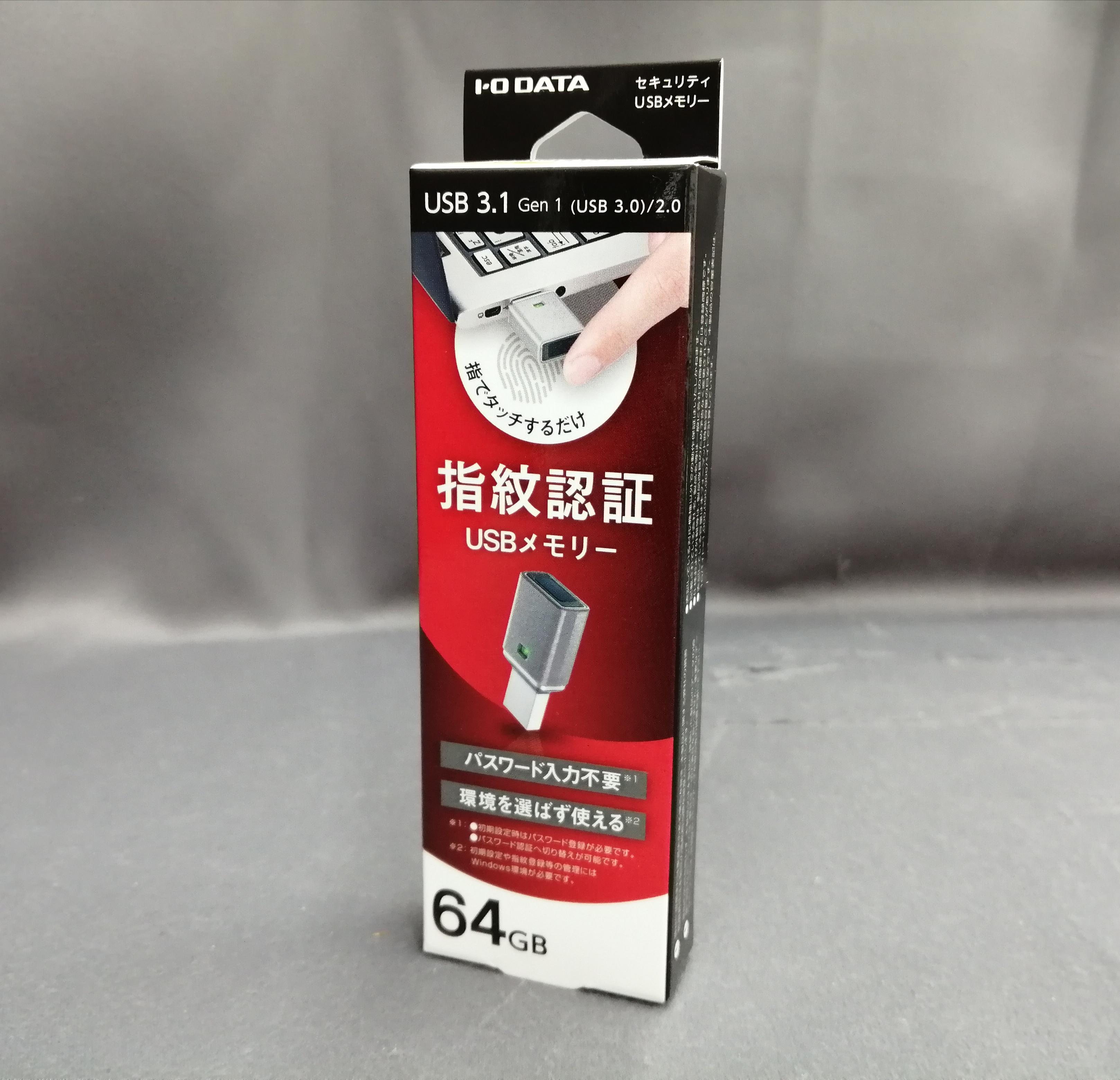 USBメモリー 64GB|IODATA
