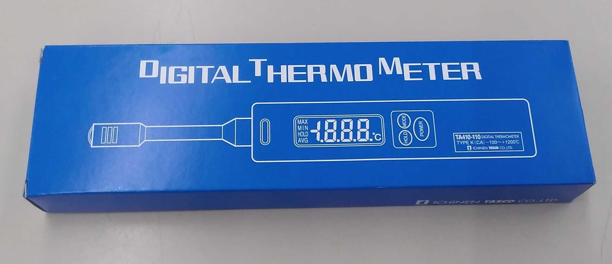 デジタル温度計|TASCO