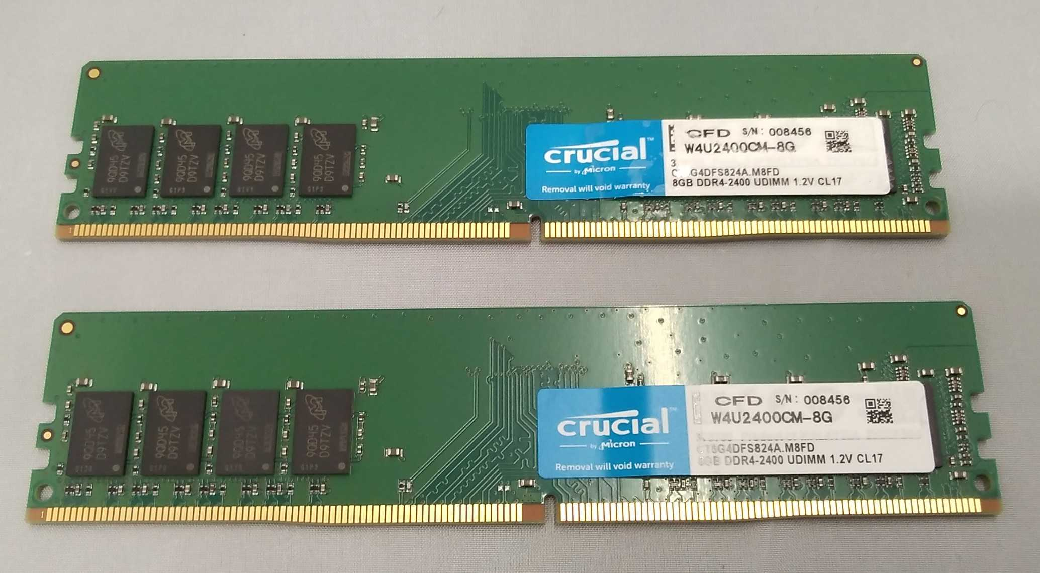 DDR3-2133/PC3-17000 CRUCIAL