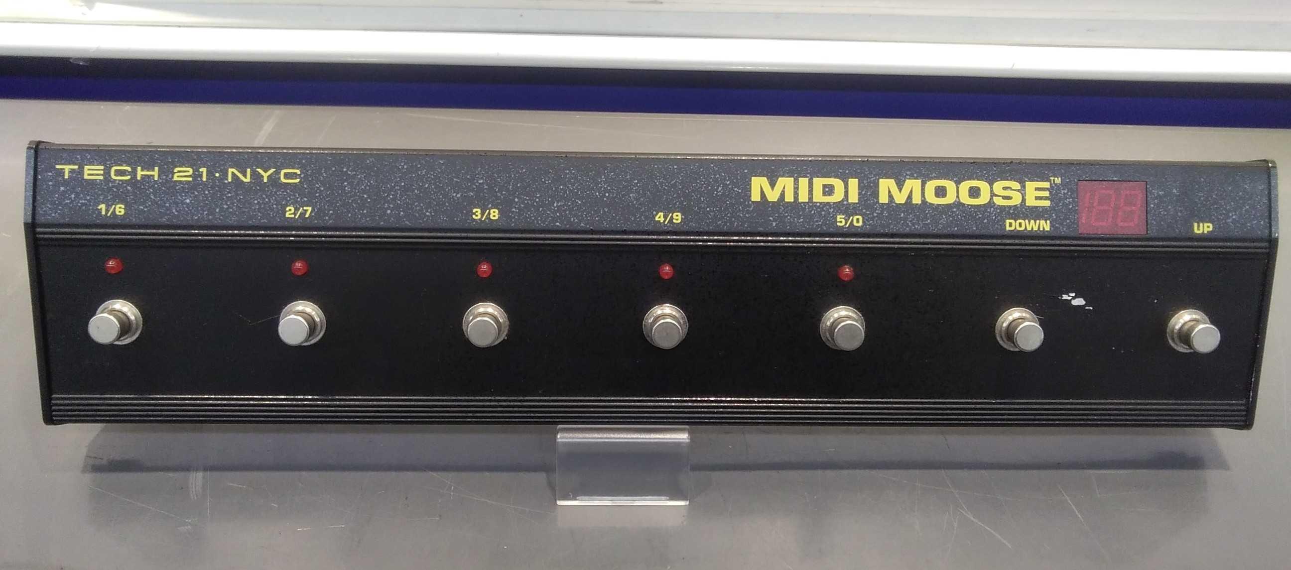 MIDIスイッチャー|TECH21